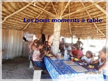 Les bons moments à table