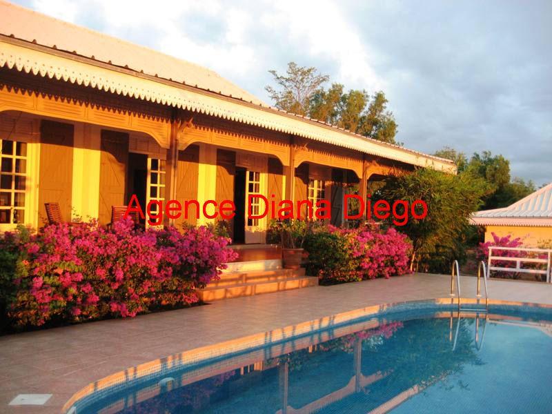 vente villa Créole piscine Diego-Suarez Madagascarwww.diego-suarez-immobilier.com