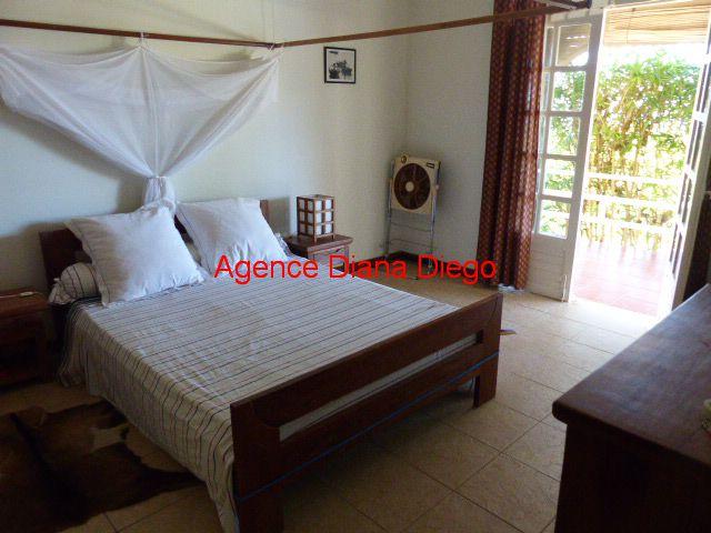 www.diego-suarez-immobilier.com chambre vue mer Diego-Suarez Madagascar