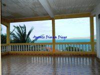 Vente villa route Université Diego