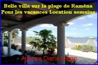 Location vacance villa plage Raména 4 chambres