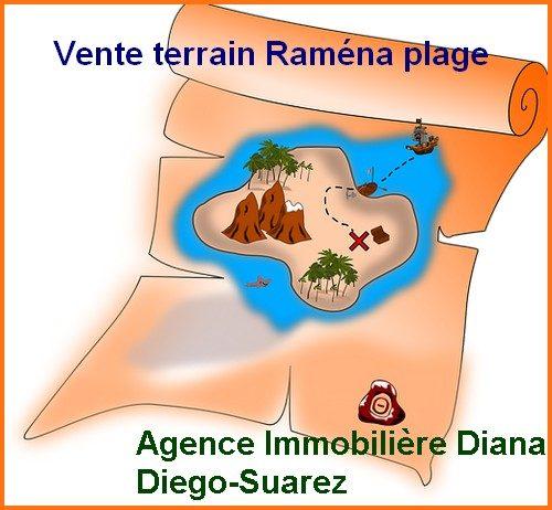 Vente terrains Raména plage