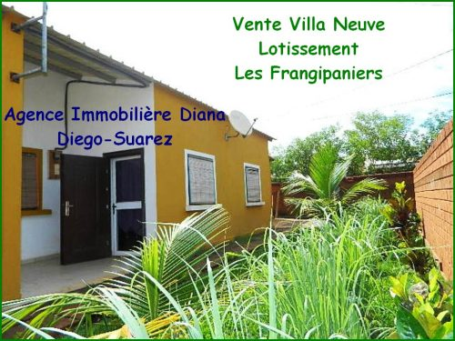 vente villa neuve scama diego immobilier diego suarez madagascar. Black Bedroom Furniture Sets. Home Design Ideas