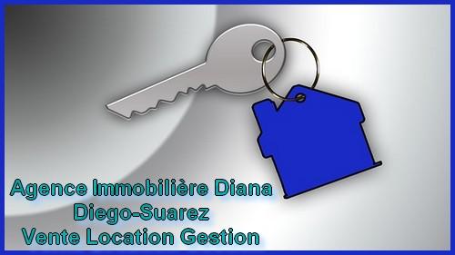 Location grande villa 4 chambres route Université Diego-Suarez