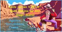 Vente terrain 4 357 m² route Ramena vue mer Diego-Suarez