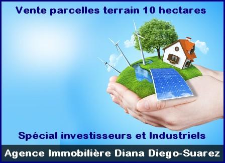 Vente terrains titres-bornes lots 10 hectares Diego spécial investisseur