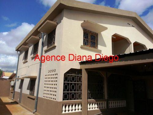 Location grande maison neuve quartier SCAMA Diego-Suarez
