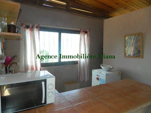 Location studio meublé bel environnement route Ramene Diego-Suarez